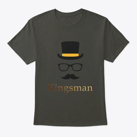 Kingsman T Shirt Smoke Gray T-Shirt Front