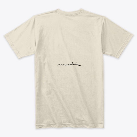 Earn Money Is Too Expensive Cream T-Shirt Back
