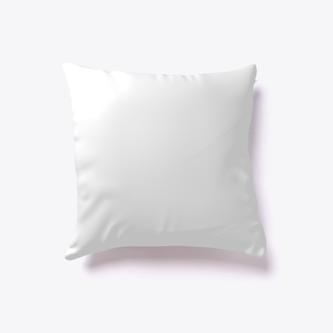Scream Halloween Pillow White Kaos Back