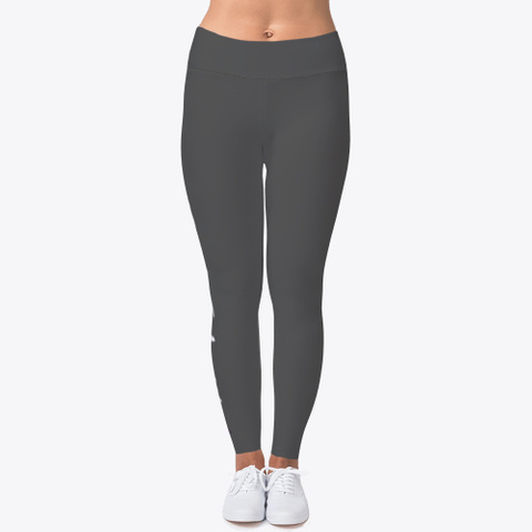 Create Leggings Charcoal T-Shirt Front