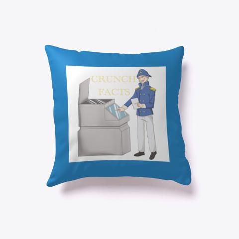 Crunch Fax Denim Blue T-Shirt Front