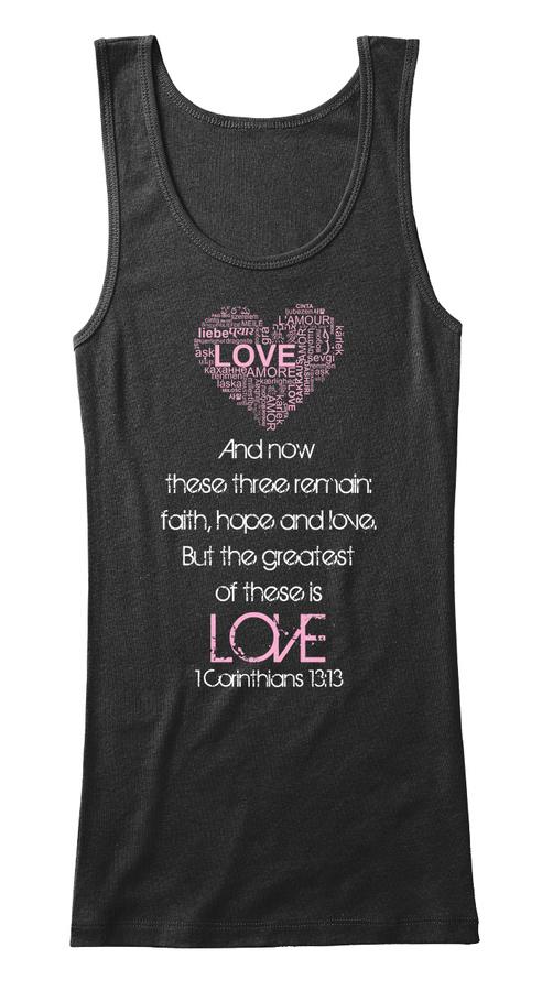 1 Corinthians 1313 Love Tank Tops Unisex Tshirt