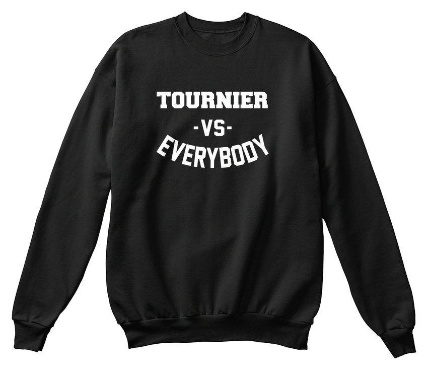 shirt Tournier Confortable Everybody Vs Sweat 77aOUx