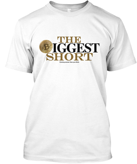 The Biggest Short Coming Sooner Than You Think White T-Shirt Front