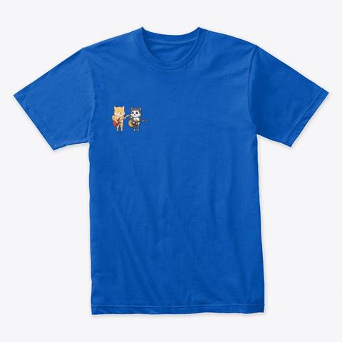 Shikuba And Mujiki  Royal T-Shirt Front
