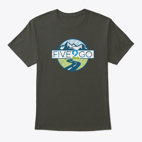 Five2 Go Medallion Smoke Gray T-Shirt Front
