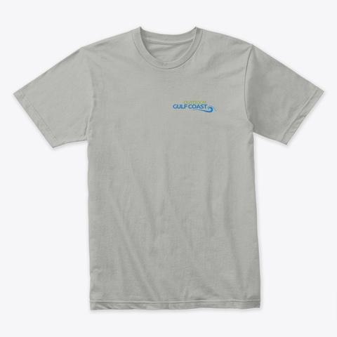 Outdoor Gulf Coast T Shirt Light Grey T-Shirt Front