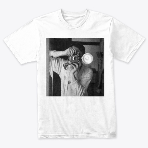 Paul Heather White T-Shirt Front