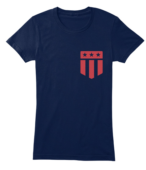 Kasey's Tee Closet  Navy Women's T-Shirt Front