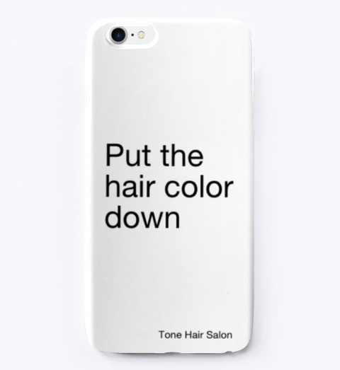 Tone Cell Phone Case Standard T-Shirt Front