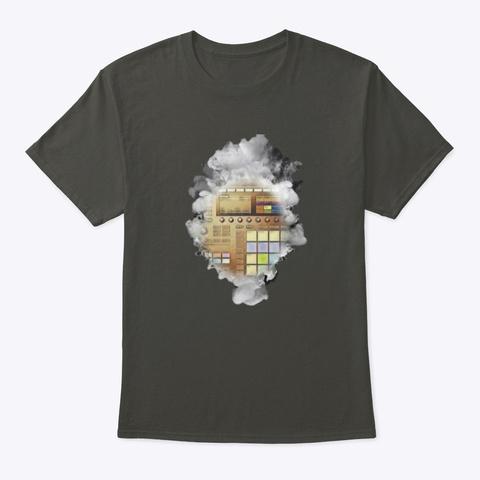Smoking Machine Smoke Gray T-Shirt Front