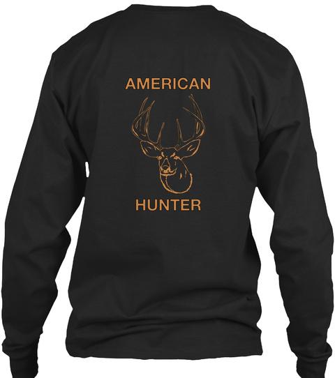 American Hunter Black T-Shirt Back