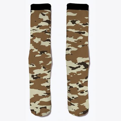 Military Camouflage   Arid Desert Ii Standard T-Shirt Front