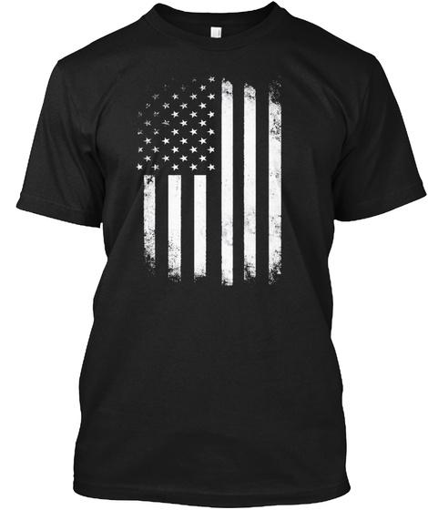 Cd Zinc Battle Flag Black T-Shirt Front
