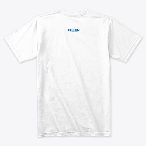 Ian Brandon Anderson Campaign White T-Shirt Back