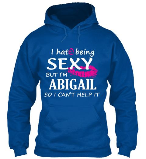 Tshirt Of Abigail, Sexy Abigail Royal T-Shirt Front