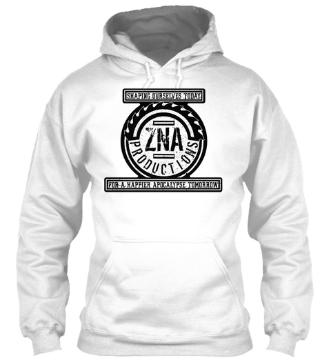 Zna Productions White T-Shirt Front
