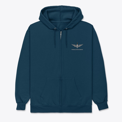 Pdc Expedition Hoodie Navy T-Shirt Front
