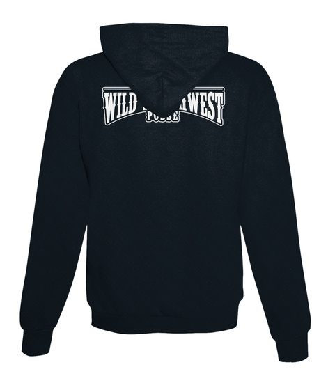 Wild Southwest Posse French Navy T-Shirt Back