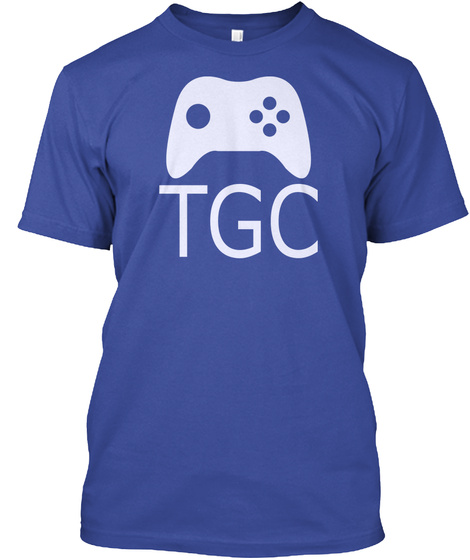 The Game Center   Merchandise Deep Royal T-Shirt Front