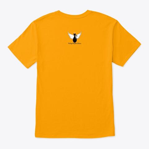 Arthur Celebration Shirt Gold T-Shirt Back