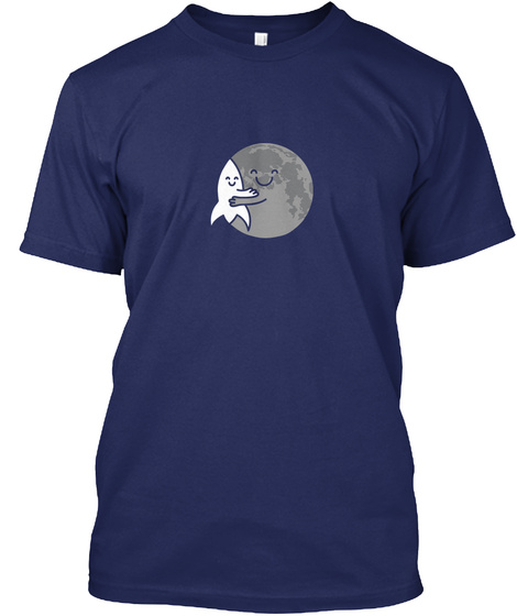 You Complete Me (Luna) [Usa] #Sfsf Midnight Navy T-Shirt Front