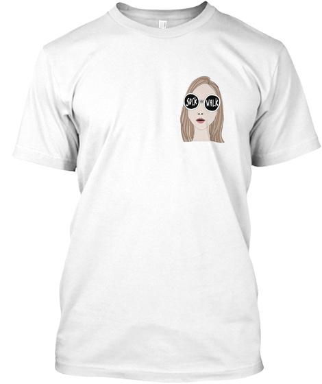 Sock The Walk + Women For Women Intl White T-Shirt Front