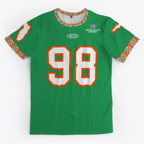 Tallahassee Fb Rewind 98 Green Green T-Shirt Front
