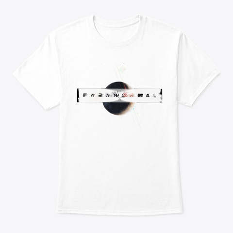 Paranormal White T-Shirt Front