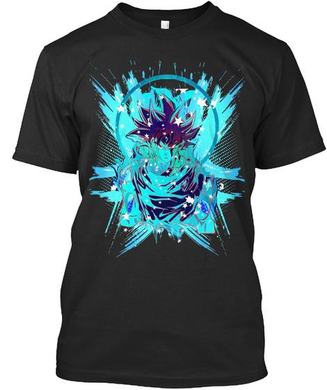 Goku Last Fight #Dbs Black T-Shirt Front