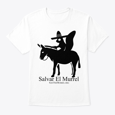 Salvar El Murrel White T-Shirt Front