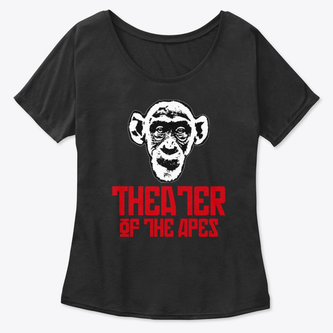 Theater Of The Apes Original Flavor Black T-Shirt Front