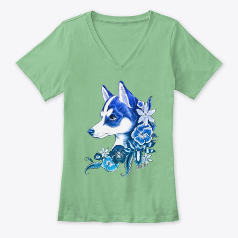 Nature's Companion By Mei Yu Leaf  T-Shirt Front