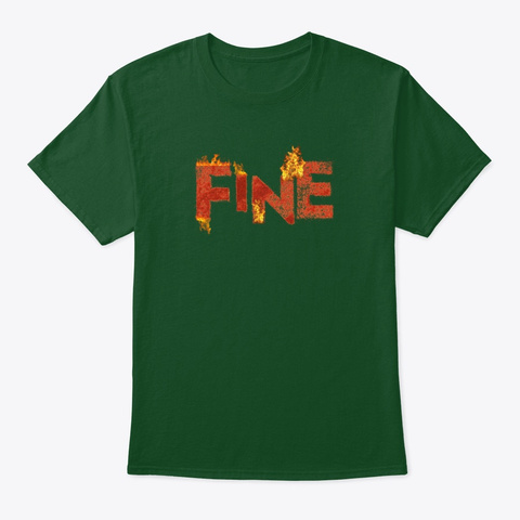 Gabby B Fine Collection Deep Forest T-Shirt Front