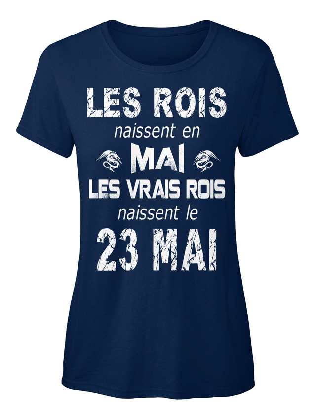 Les-Rois-23-Mai-Stylisches-T-Shirt-Damen