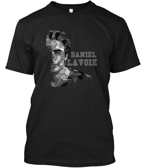 Daniel Lavoie Black T-Shirt Front