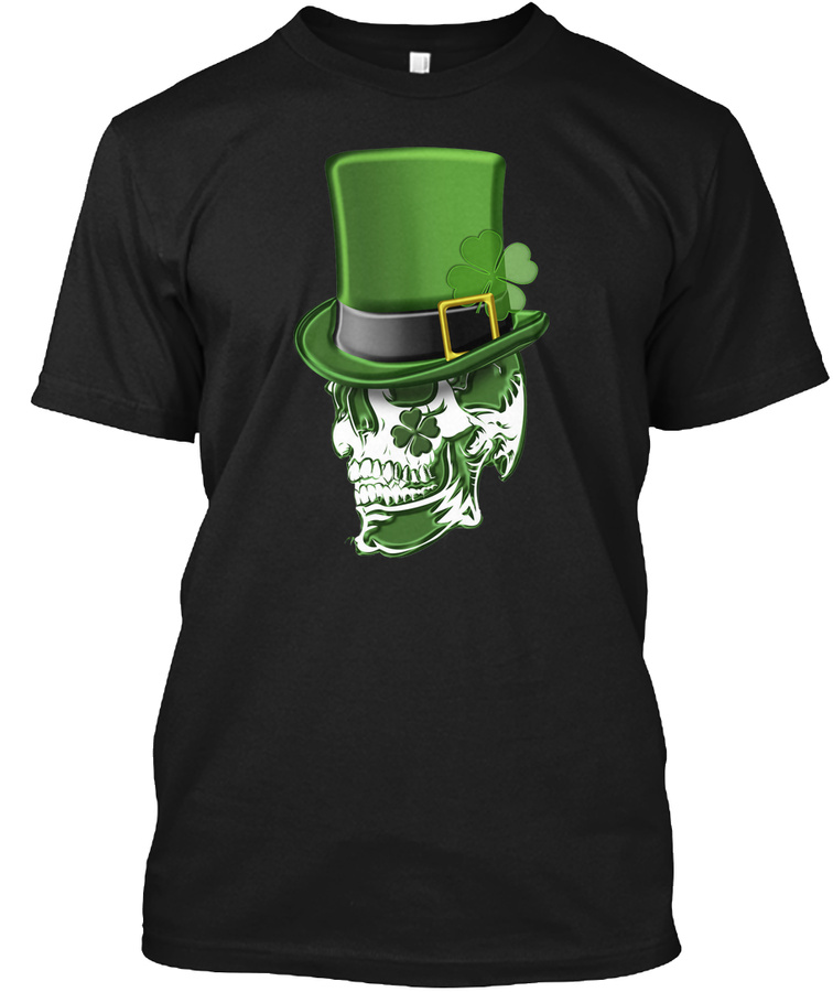 St Patricks Day Skull Shamrock - Cheap Cheap St Partricks Day Hoodies Shirts Design