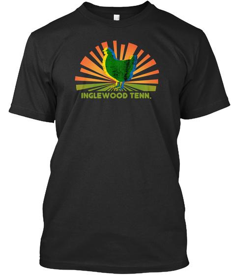 Inglewood Tenn. Black T-Shirt Front