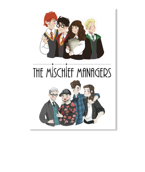The Mischief Managers White T-Shirt Front