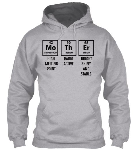 Mother High Melting Point T Shirt Sport Grey T-Shirt Front