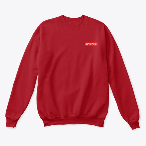 Gotension Tokyo Deep Red  T-Shirt Front
