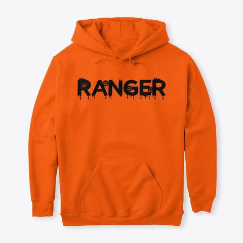 Ranger Halloween Safety Orange T-Shirt Front