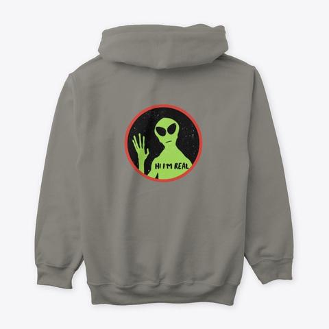 Dark Inside Gothic Alien Portal Series Charcoal T-Shirt Back
