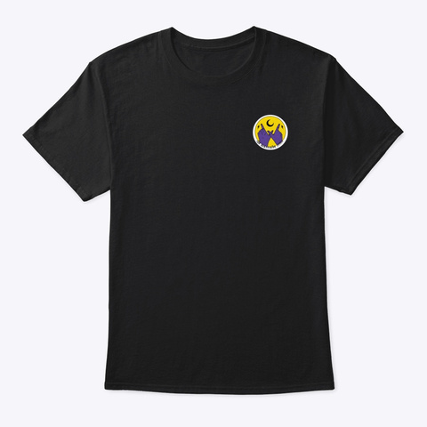The Wannabe Critic   Main Logo Black T-Shirt Front