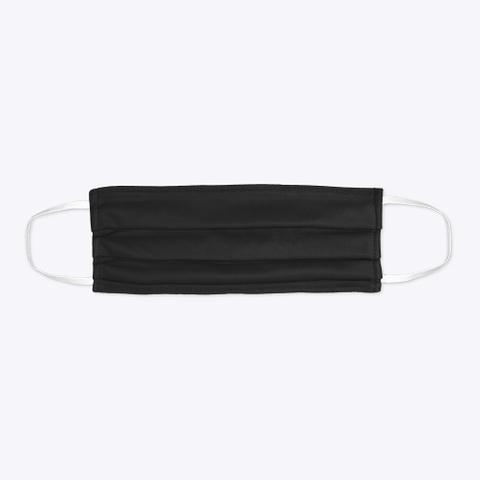 Nashp.Com Mask Black T-Shirt Flat