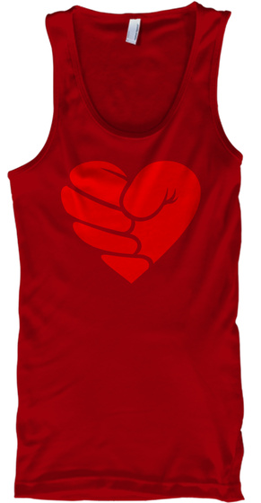 Fistoflove Red T-Shirt Front