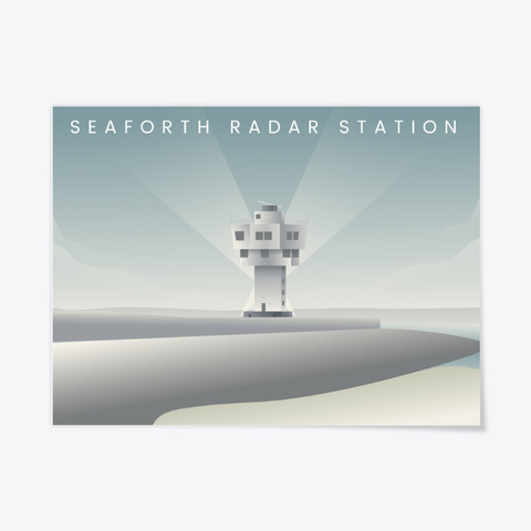 Seaforth Radar Station Standard T-Shirt Front