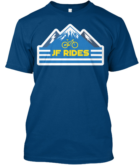 Jf Rides Cool Blue T-Shirt Front