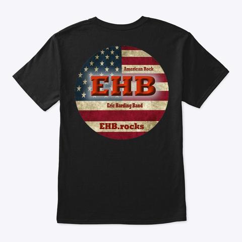 Ehb Eric Harding Band T Shirt Black T-Shirt Back