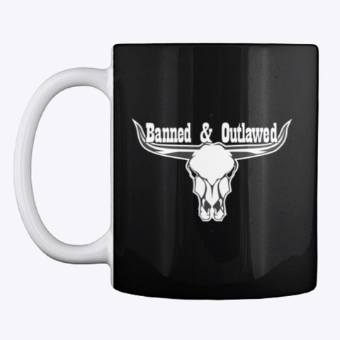 Banned &Amp; Outlawed Merch Black T-Shirt Front